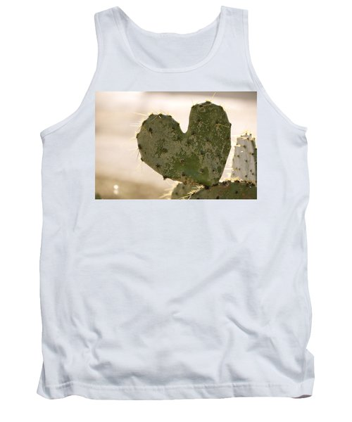 Tank Top featuring the photograph The Heart Of Texas by Debbie Karnes