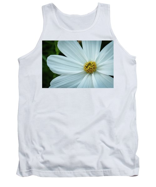 The Heart Of The Daisy Tank Top by Monte Stevens