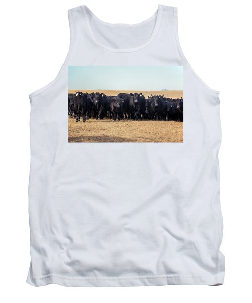 The Herd Rushes In Tank Top