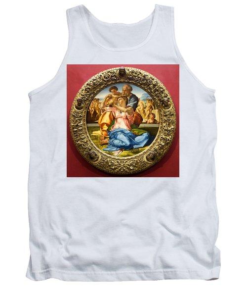 The Holy Family - Doni Tondo - Michelangelo Tank Top