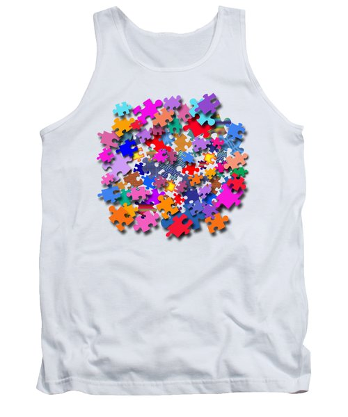 The Impossible Puzzle Tank Top by Bill Owen