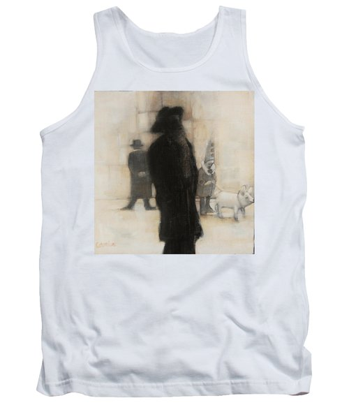 The Incongruity Of It All  Tank Top by Jean Cormier
