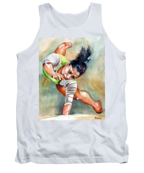 The Indian Gymnast Tank Top
