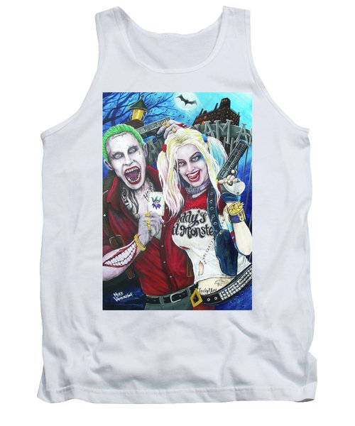 The Joker And Harley Quinn Tank Top