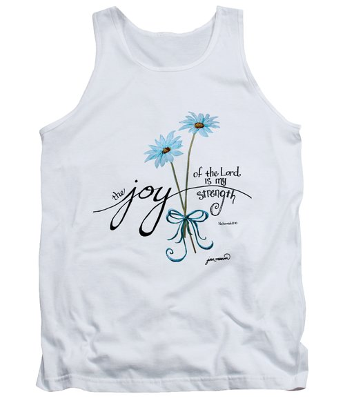 The Joy Of The Lord Outlilne By Jan Marvin Tank Top