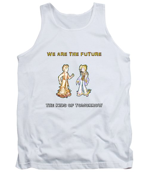 The Kids Of Tomorrow Corie And Albert Tank Top by Shawn Dall