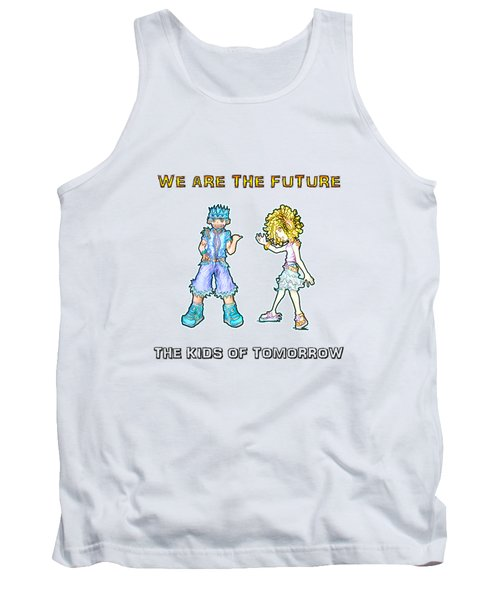 The Kids Of Tomorrow Toby And Daphne Tank Top by Shawn Dall