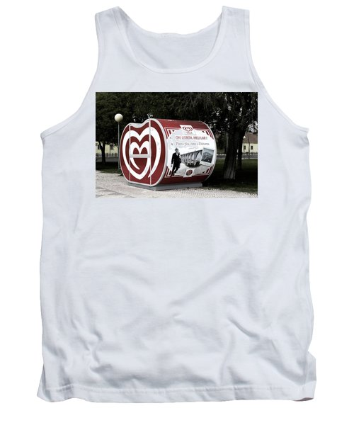 The Kiosk Is Closed Today Tank Top