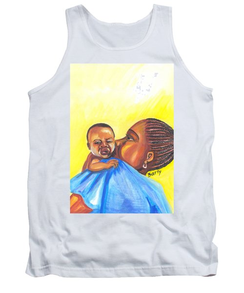 The Kiss Of A Mother In Senegal Tank Top