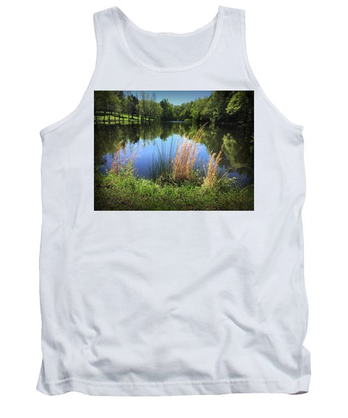 The Lake At Musgrove Mill Tank Top
