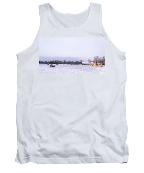 The Last Farm... Tank Top by Patrick Fennell