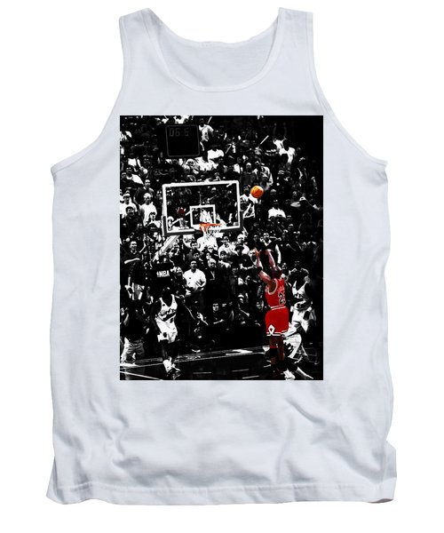 The Last Shot 23 Tank Top by Brian Reaves