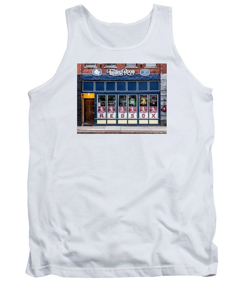 Tank Top featuring the photograph The Lasting Room - Haverhill Red Sox Pride by Betty Denise