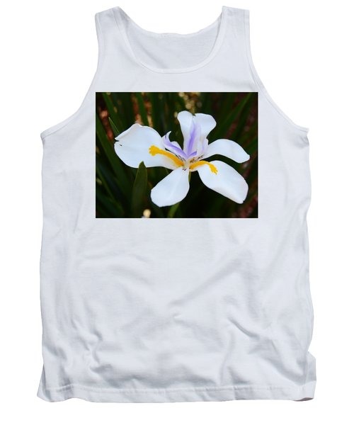 The Legacy African Iris Tank Top by Warren Thompson