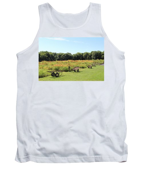 The Lilies Of The Fields Tank Top