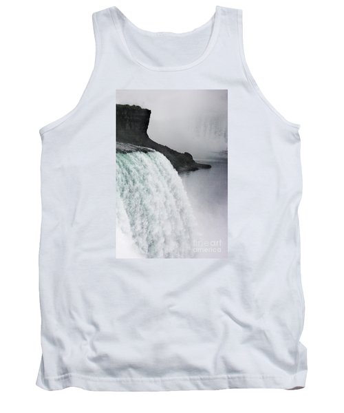 Tank Top featuring the photograph The Liquid Curtain by Dana DiPasquale