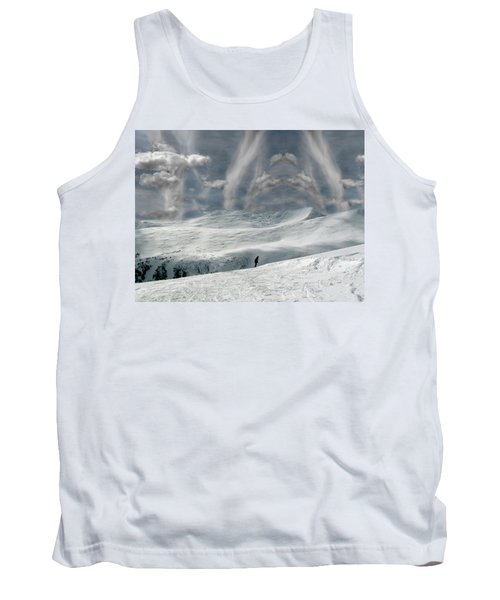 The Lone Boarder Tank Top