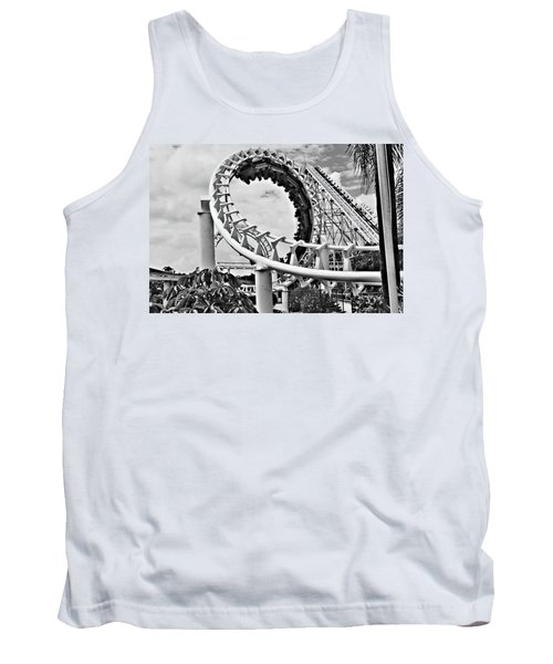 The Loop Black And White Tank Top