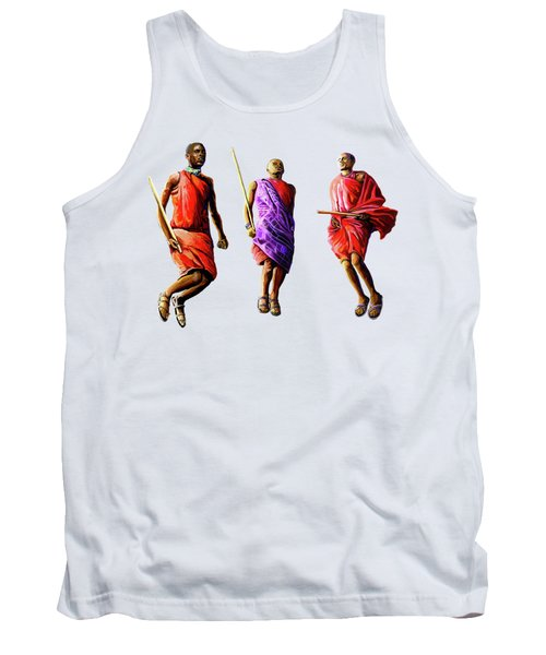 The Maasai Jump Tank Top