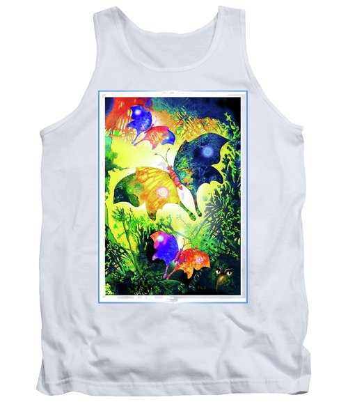The Magic Of Butterflies Tank Top
