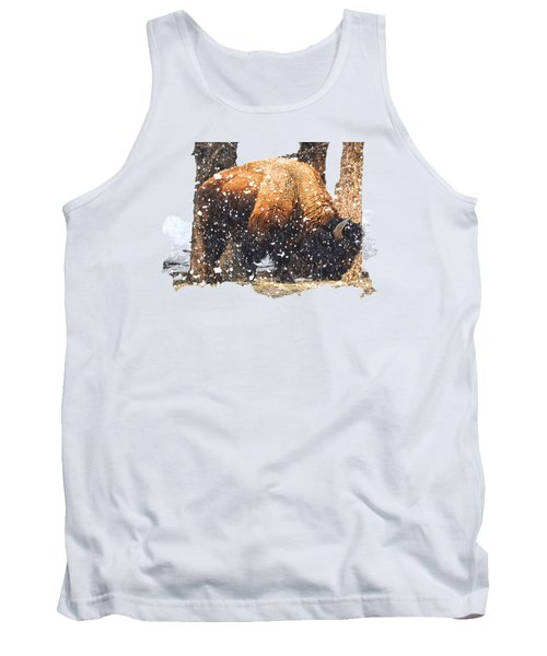 The Majestic Bison Tank Top by Image Takers Photography LLC - Carol Haddon