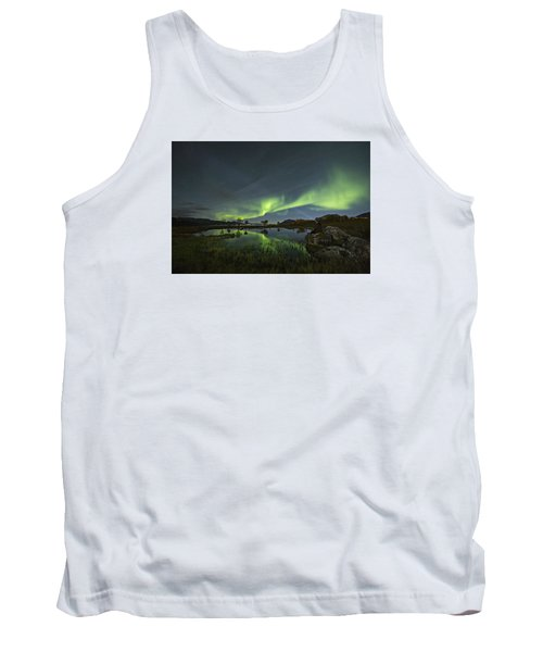 The Man Under The Aurora Sky Tank Top