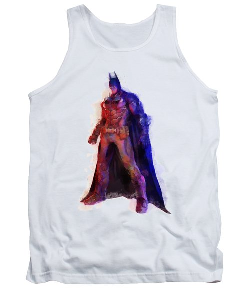 The Man With A Cape Tank Top