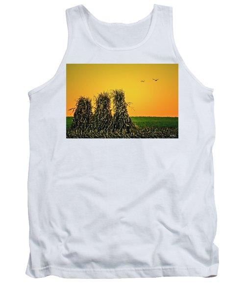 The Migration Of Summer Tank Top by Skip Tribby