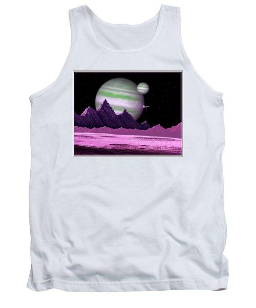 The Moons Of Meepzor Tank Top by Scott Ross