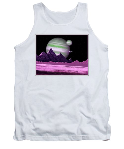 The Moons Of Meepzor Tank Top