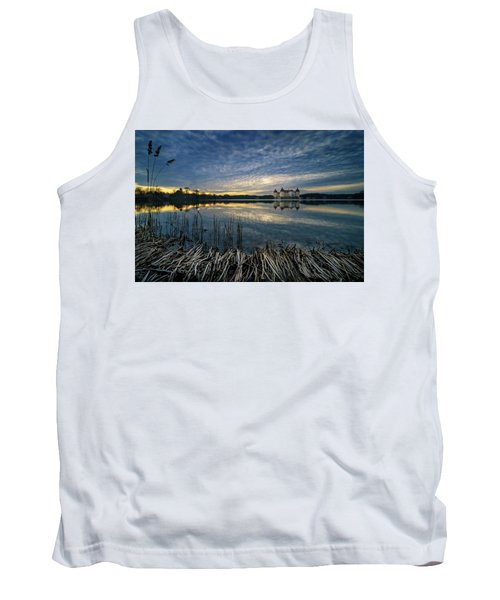 The Moritzburg Castle Is A Baroque Palace In Moritzburg In The German State Of Saxony. Saxony, Germany. Tank Top