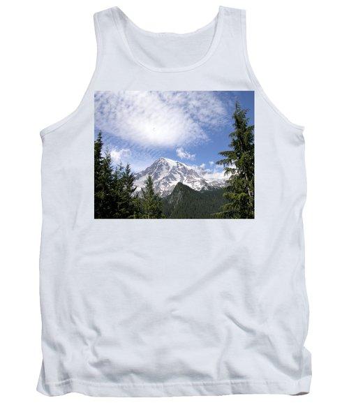 The Mountain  Mt Rainier  Washington Tank Top