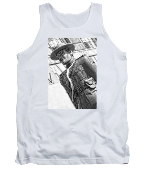 Tank Top featuring the photograph The Mountie by Bob Pardue