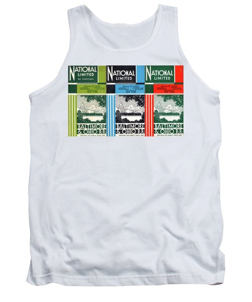 The National Limited Collage Tank Top