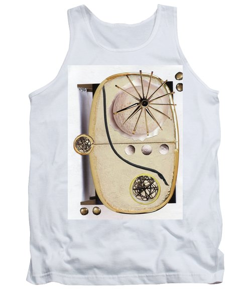 Tank Top featuring the painting The Navigator by Michal Mitak Mahgerefteh