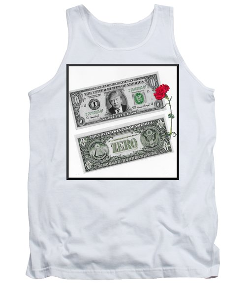 The New Trump Currency Tank Top