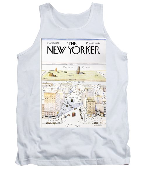 New Yorker March 29, 1976 Tank Top