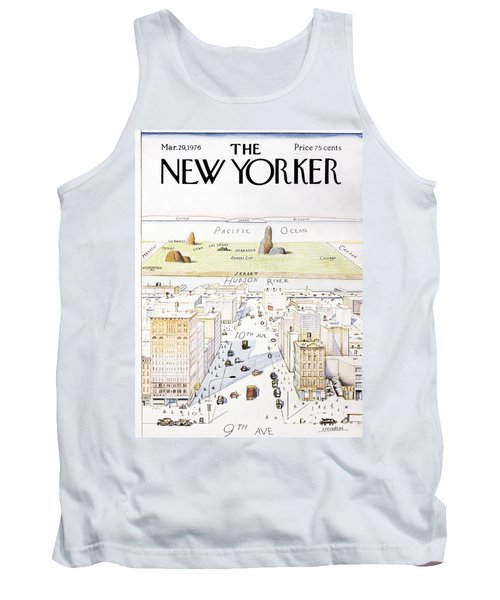 View From 9th Avenue Tank Top