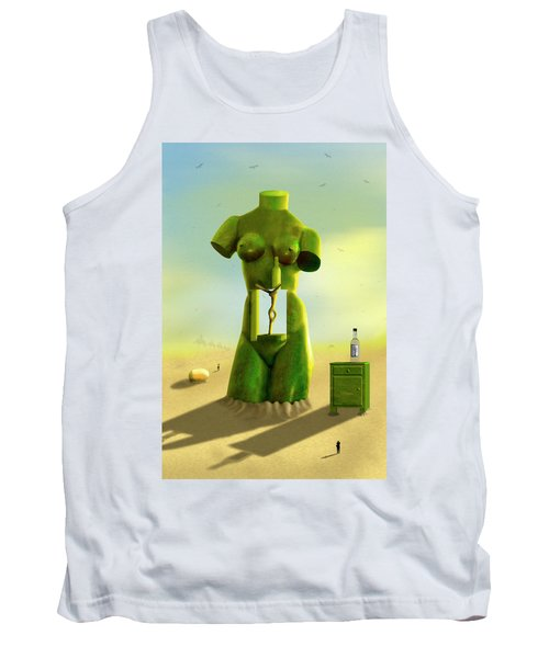 The Nightstand 2 Tank Top by Mike McGlothlen