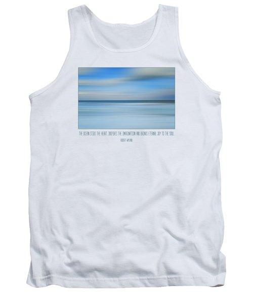 The Ocean By Robert Wyland Tank Top