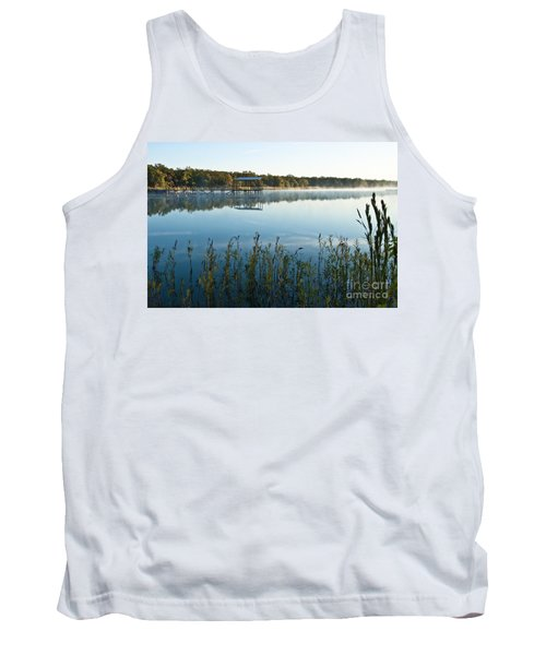 The Old Fishing Pier At Lake Murray Tank Top