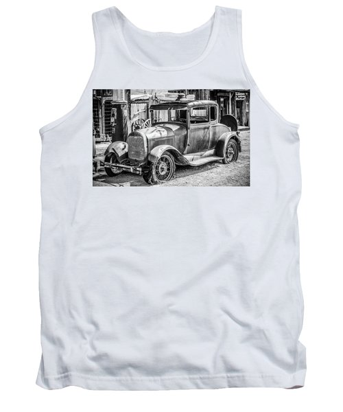 The Old Model Tank Top by Marius Sipa
