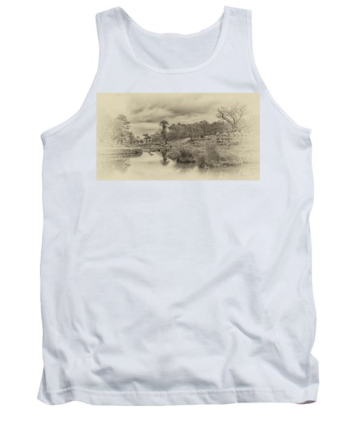 Tank Top featuring the photograph The Old Pond by Nick Bywater