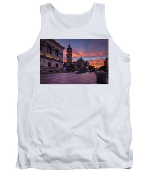 The Old South Church At Sunset Tank Top
