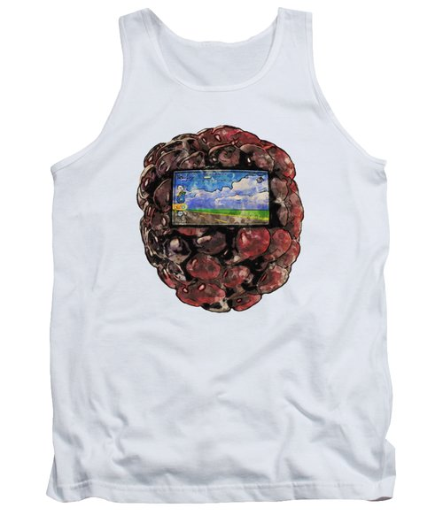 The Blackberry Concept Tank Top by ISAW Gallery