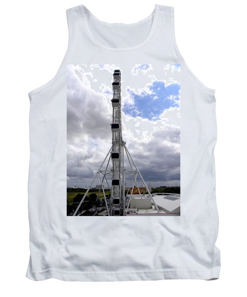 Tank Top featuring the photograph The Orlando Eye 003 by Chris Mercer