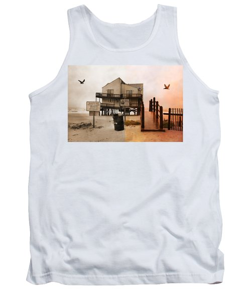 The Osprey And The Pelican Tank Top