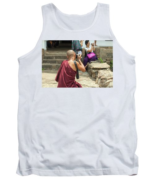 The Other Way Around Tank Top by Patricia Hofmeester