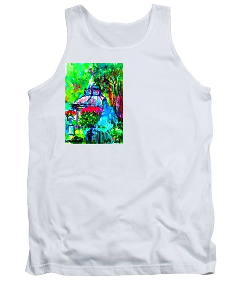 Flowers In The Park Tank Top