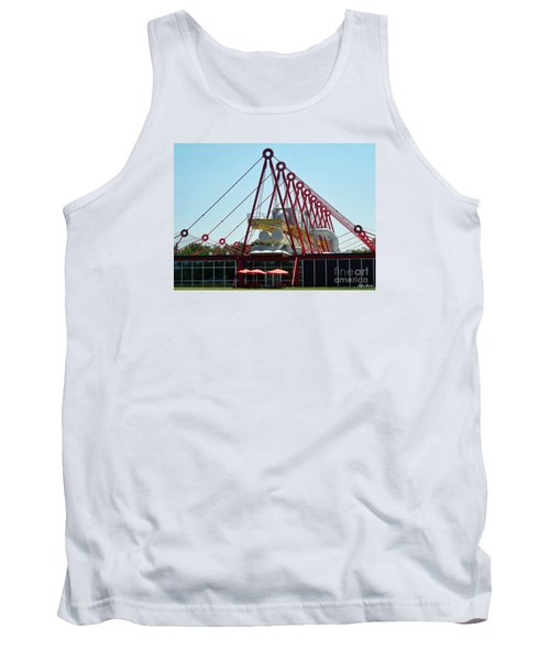 Tank Top featuring the photograph The Patscentre by Lyric Lucas